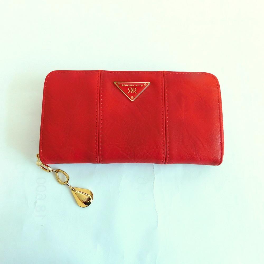 Červená dámská peněženka ROMINA&CO A172