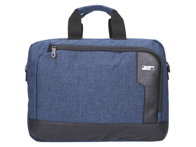 Modrá pánská taška na rameno Pierre Cardin na notebook až 14 quot  068005ea8a