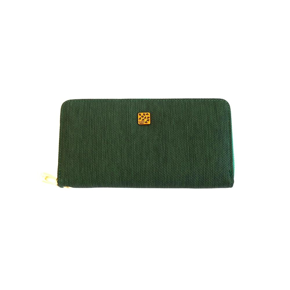 Zelená celozipová peněženka Cavaldi SF1707