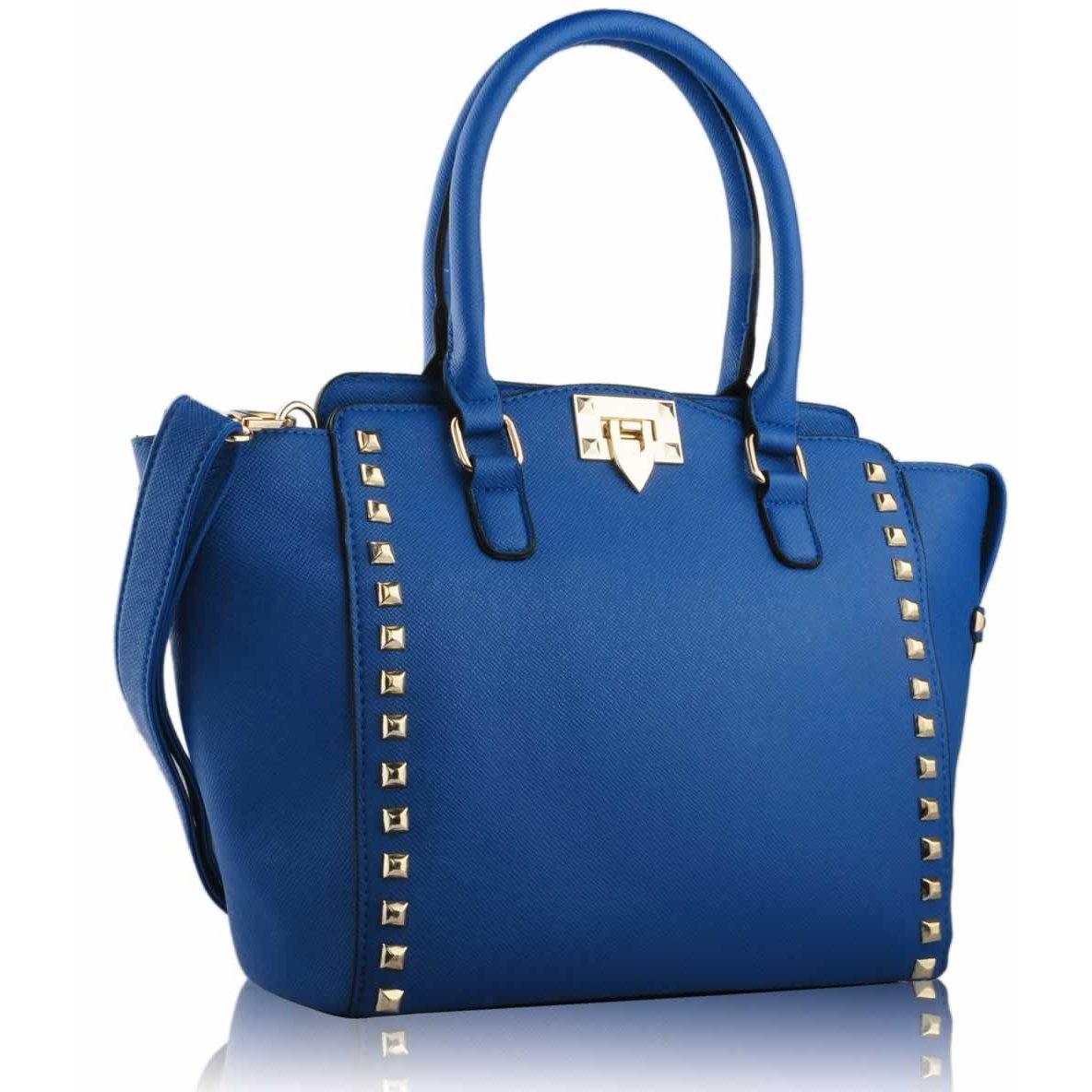 Modrá kabelka do ruky LS0092