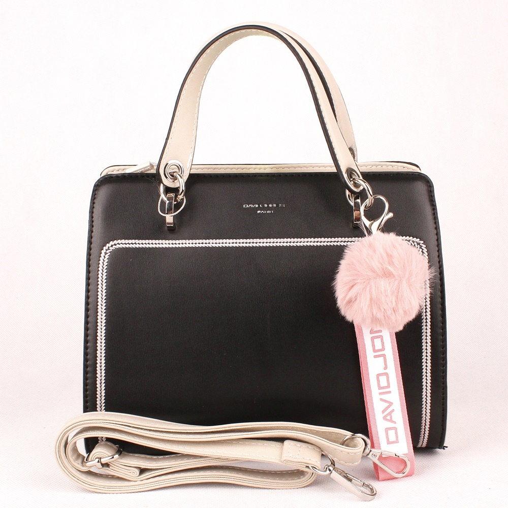 f292cda897 Malá střední černá kabelka do ruky David Jones 5993-2