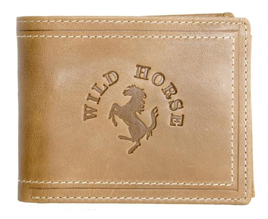 Peněženka Wild Horse hnědá