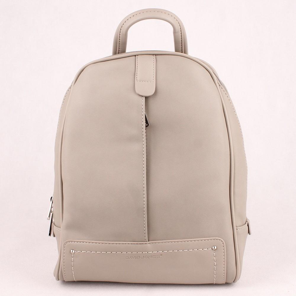 ffafa3a5af Městský středně velký šedý batoh David Jones CM5014A s obsahem 8l