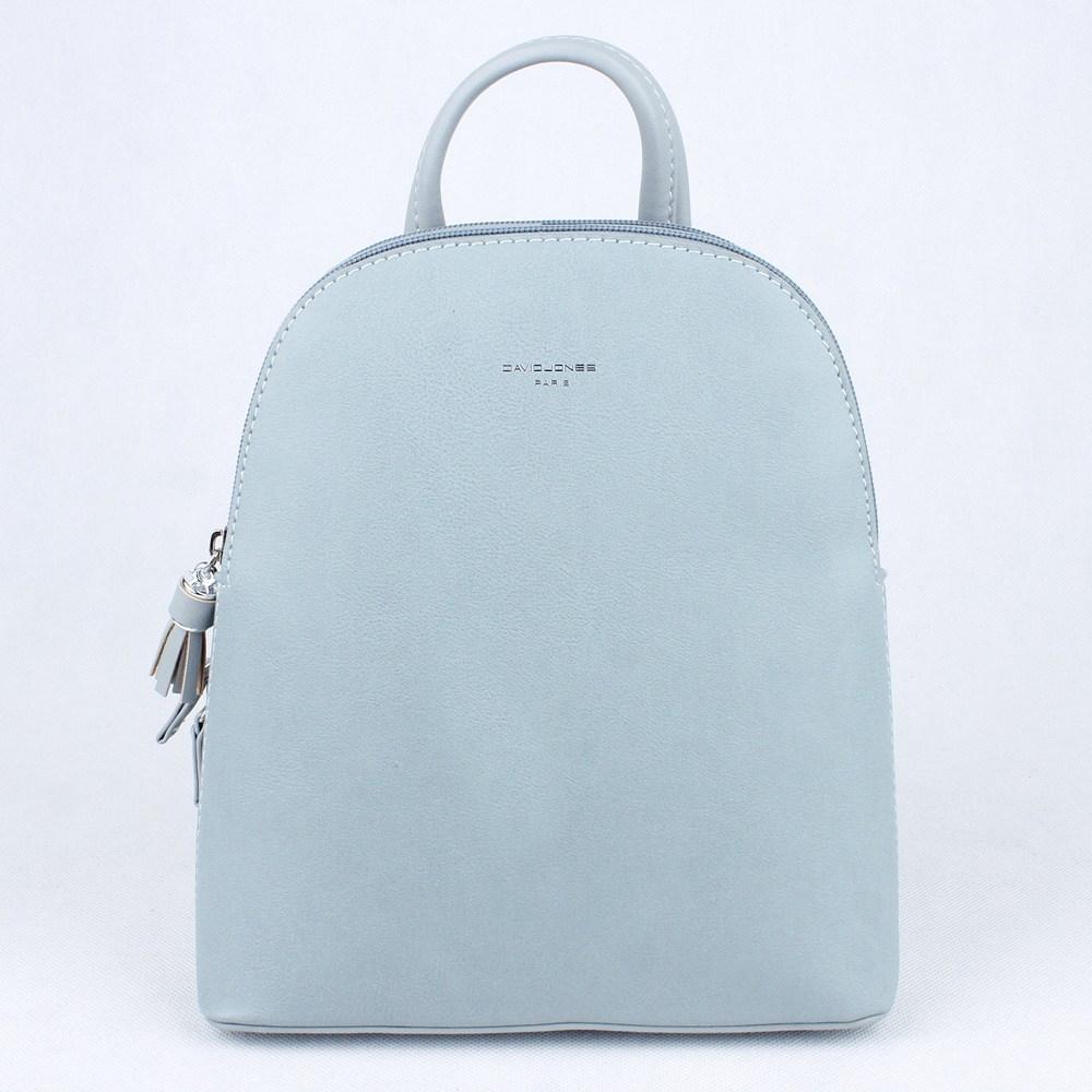 a0bcdd026 Dvousekční městský malý modrý batoh David Jones CM5136 s obsahem 5l
