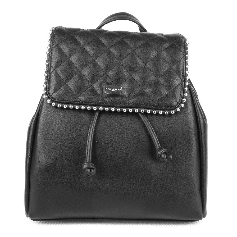 644a917a51 Městský malý černý batoh David Jones 5932-3 s obsahem cca. 5l