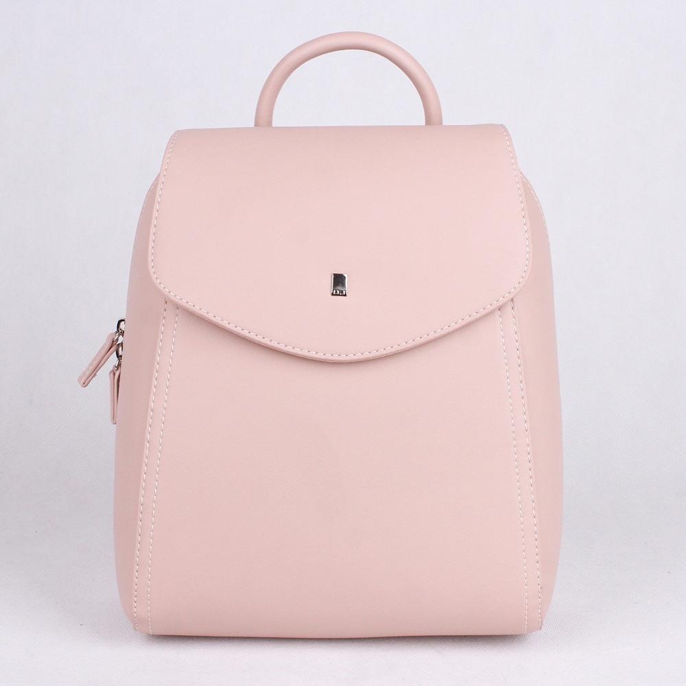 bde9e5d574 Městský malý růžový batoh David Jones CM5184 s obsahem cca. 5l