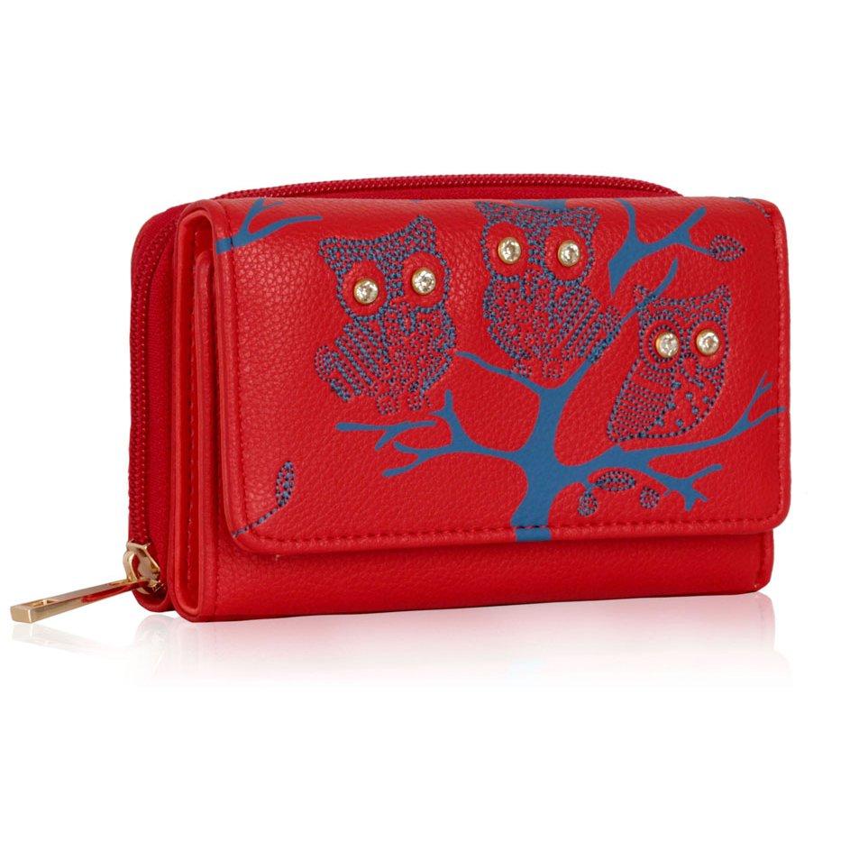 Peněženka LSP1045 červená