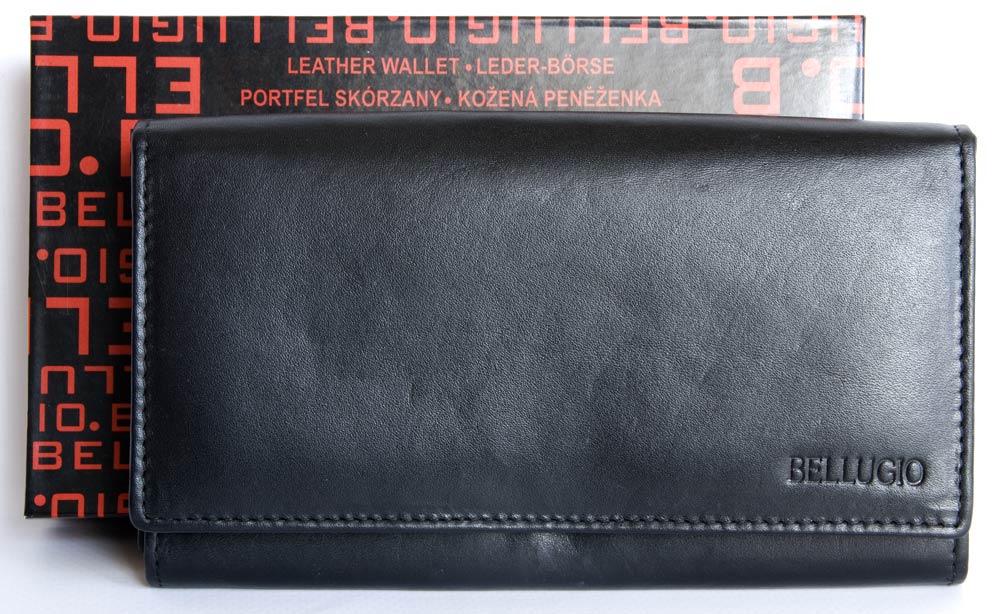 Peněženka BELLUGIO černá