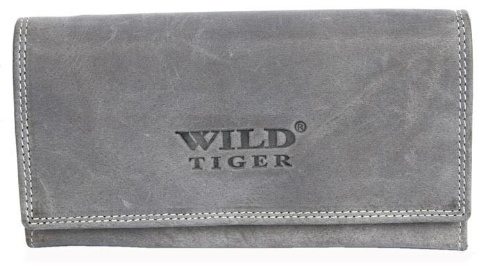 Peněženka Wild Tiger šedá