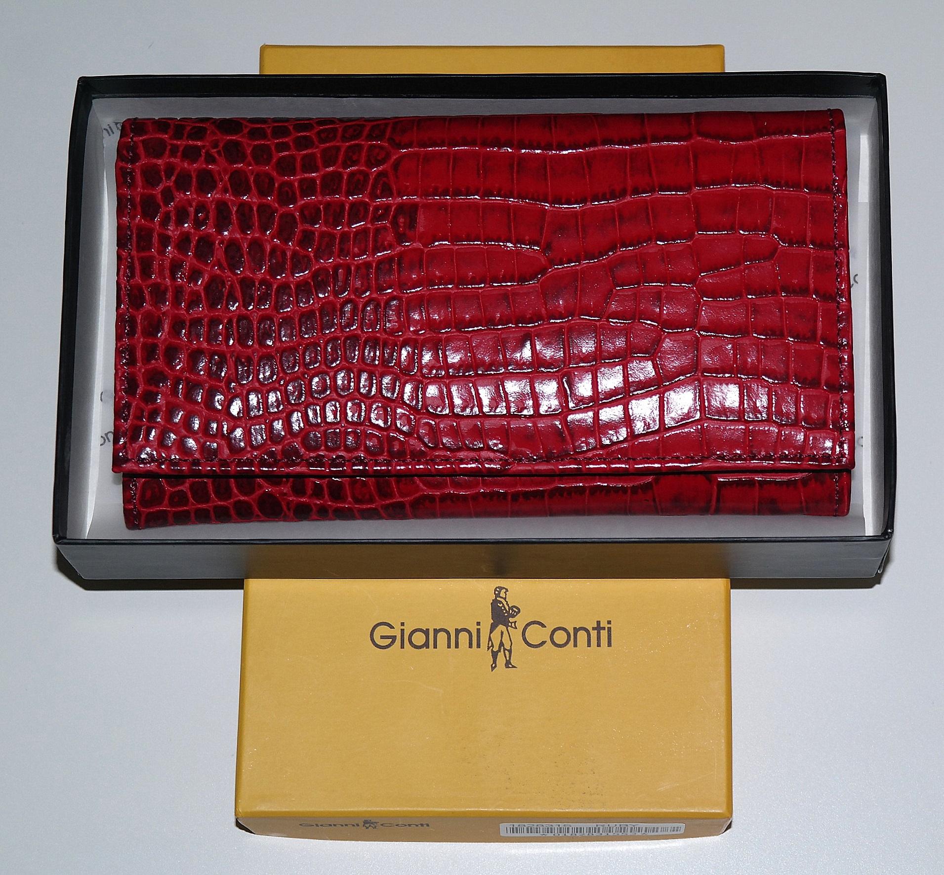 Peněženka Gianni Conti červená