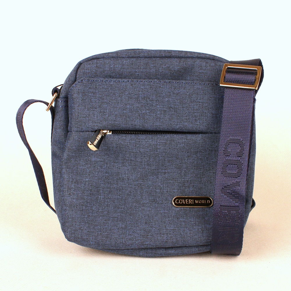 Malá modrá crossbody taška Coveri World CW7005