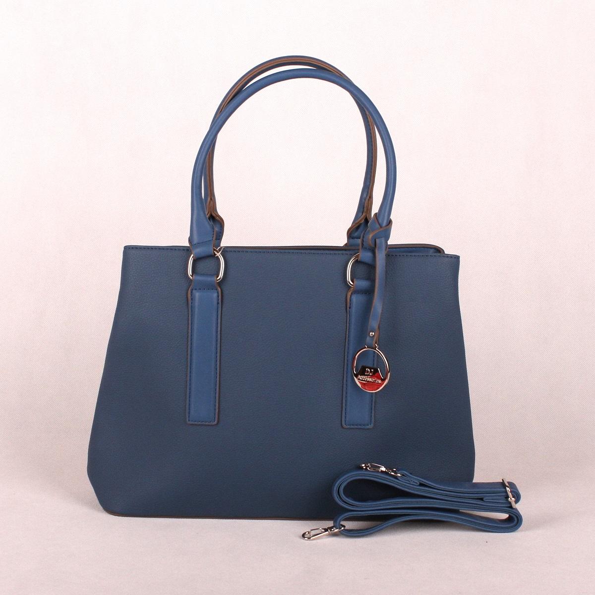 0481b247db5 Modrá kabelka do ruky David Jones CM3066