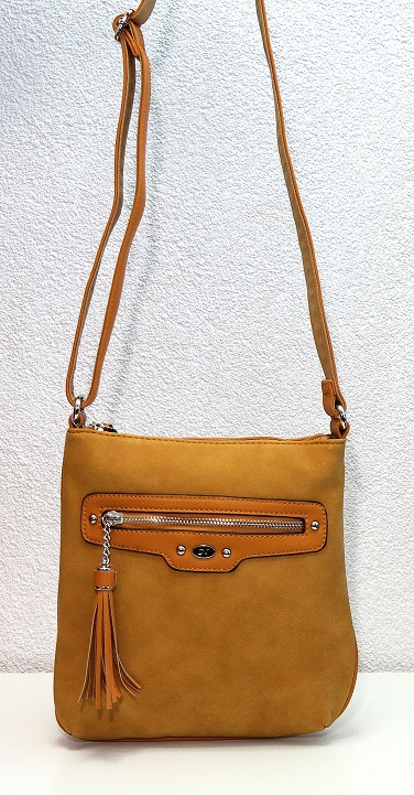 Crossbody David Jones 5276-1 žlutá