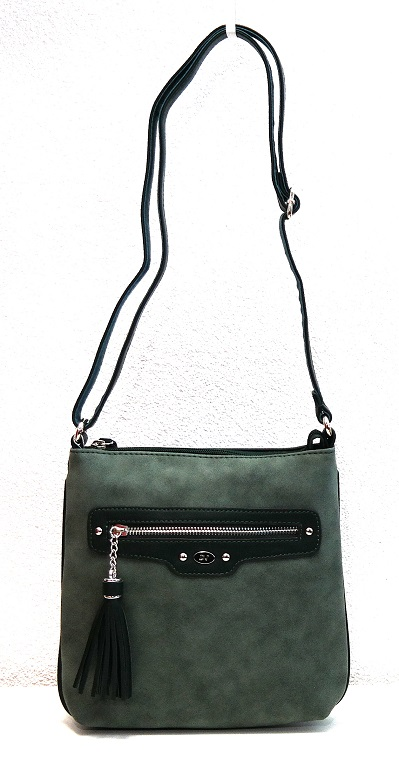 Crossbody David Jones 5276-1 zelená