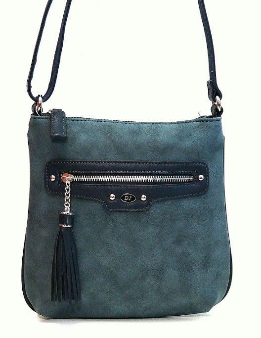 Crossbody David Jones 5276-1 modrá
