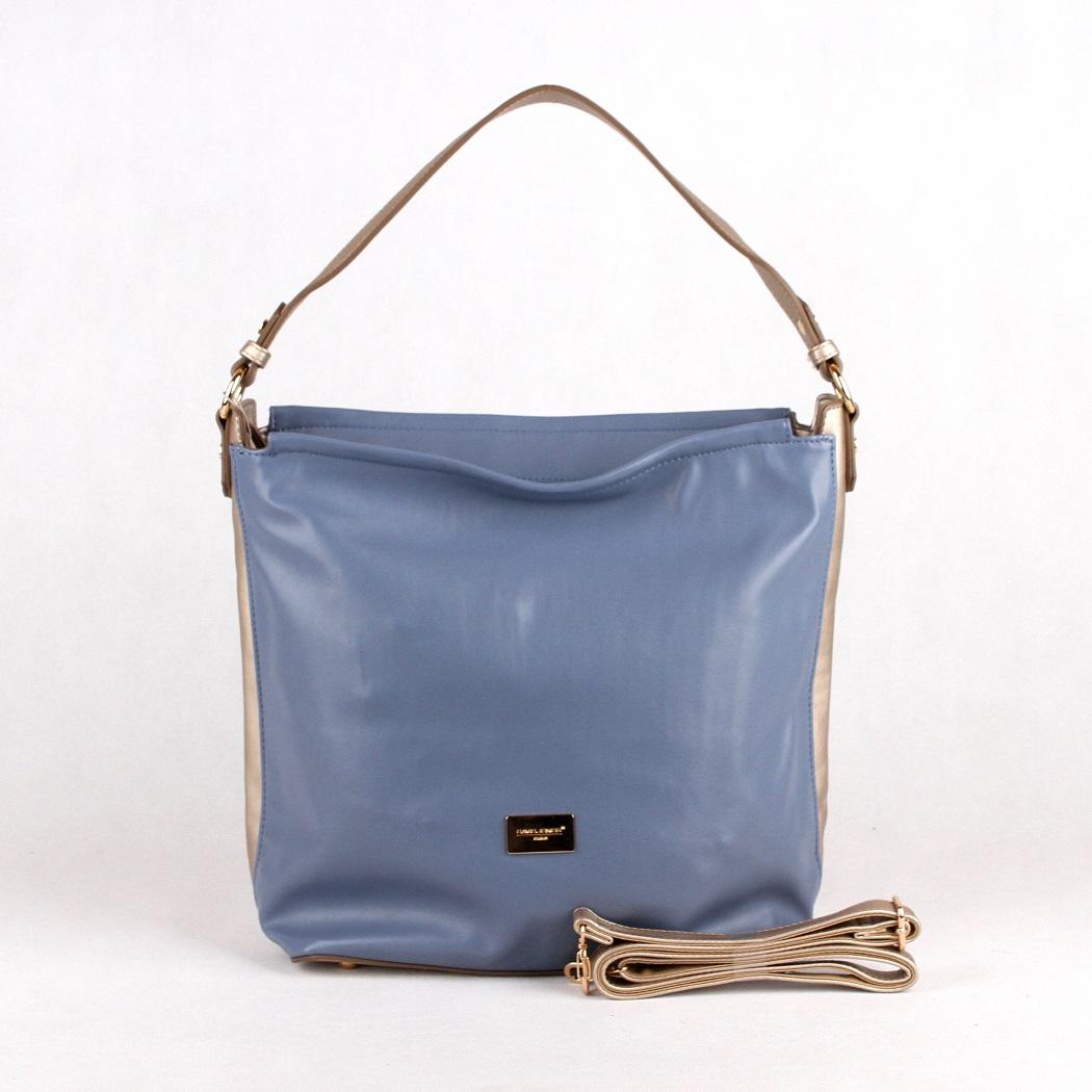 cd43a8338d Modrá kabelka na rameno David Jones CM3327 empty