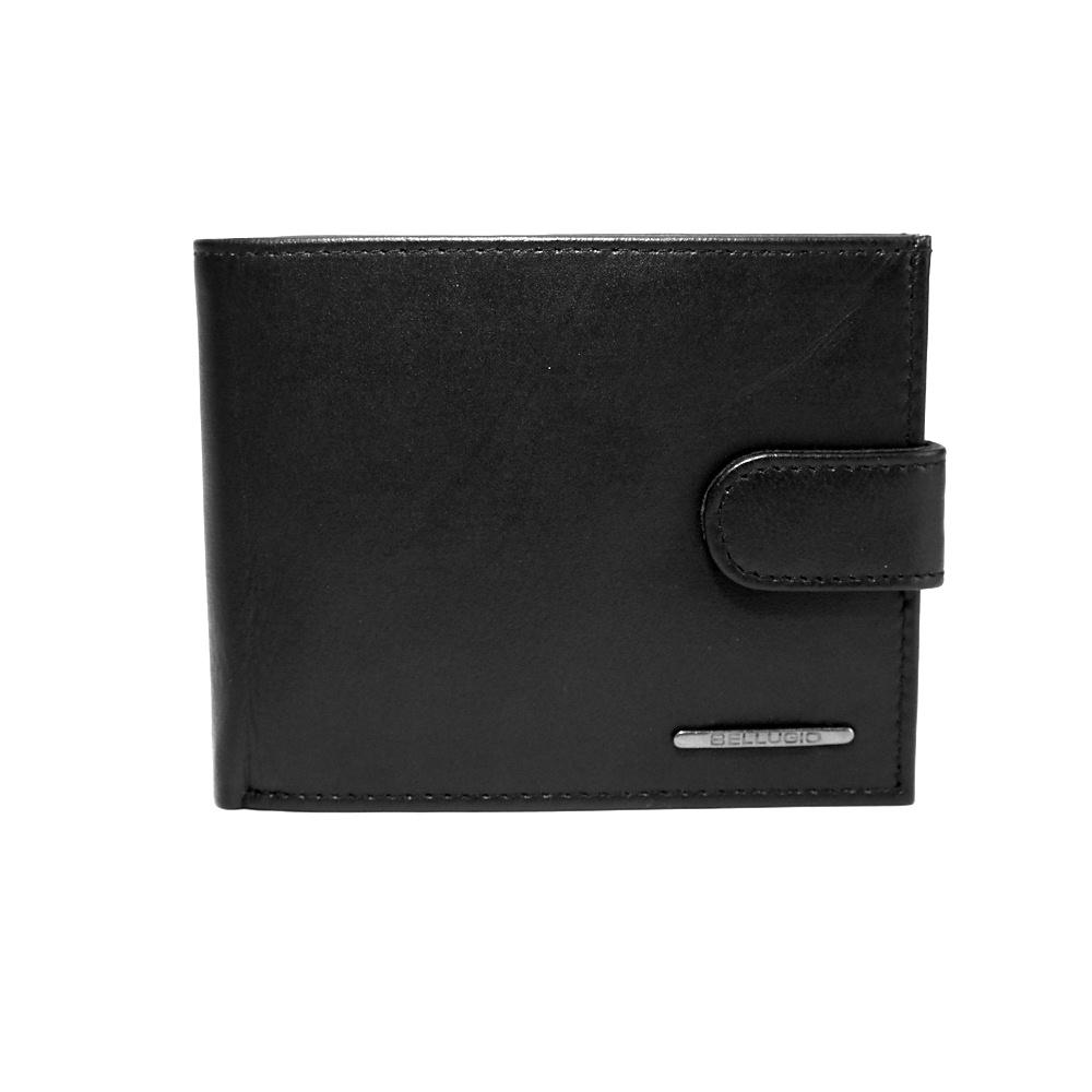 Černá kožená peněženka Bellugio s ochranou RFID (TM-34R-032) beecbf916c5