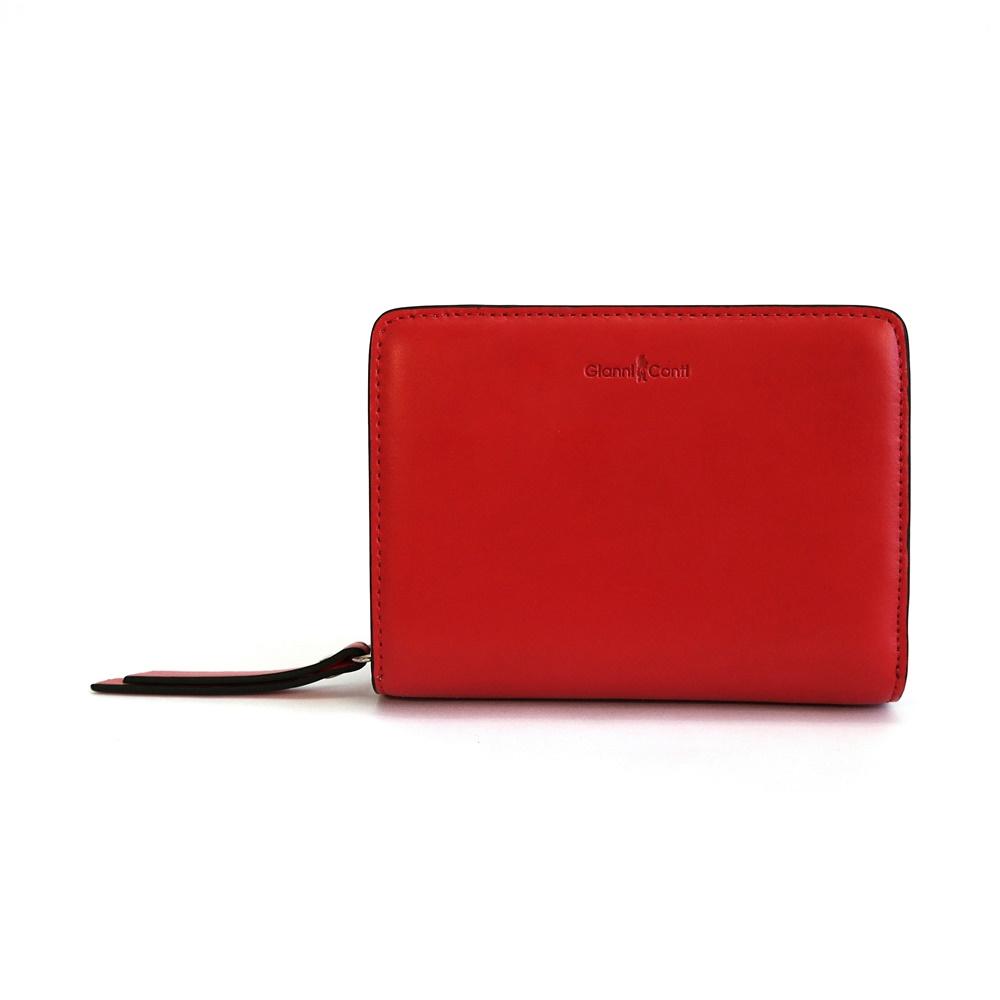 3eb809534 Luxusní červená peněženka Gianni Conti no. 334586 empty