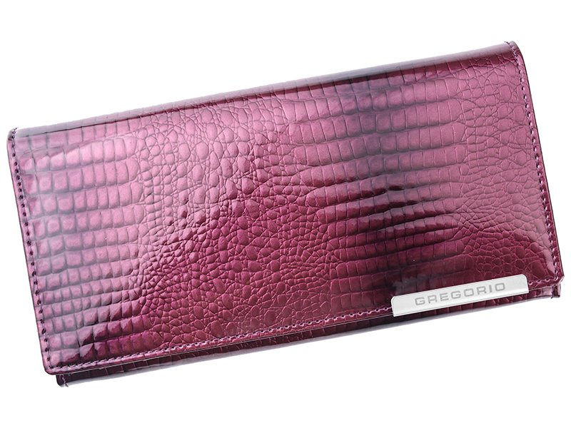 d66e247df Fialová kožená peněženka Gregorio GF106 empty